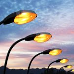 Street lighting and General Illumination options for residential complexes: HPSV, LED, Fluorescent and Solar