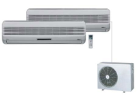 Multi Split and Variable Refrigerant Flow Systems can help save electricity in offices