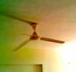 Ceiling Fan blade angle can impact electricity consumption